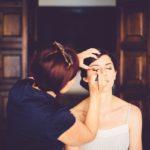 Nancy at work Wedding Makeup