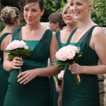Bridesmaid at Mairis Wedding 2009