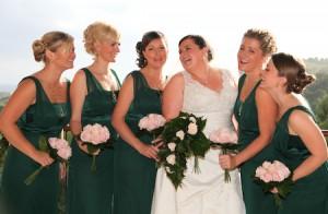 Mairis and Bridesmaids Wedding 2009