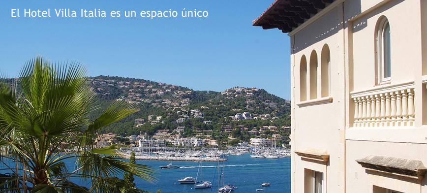 The Villa Italia, Andratx Palma de Mallorca.